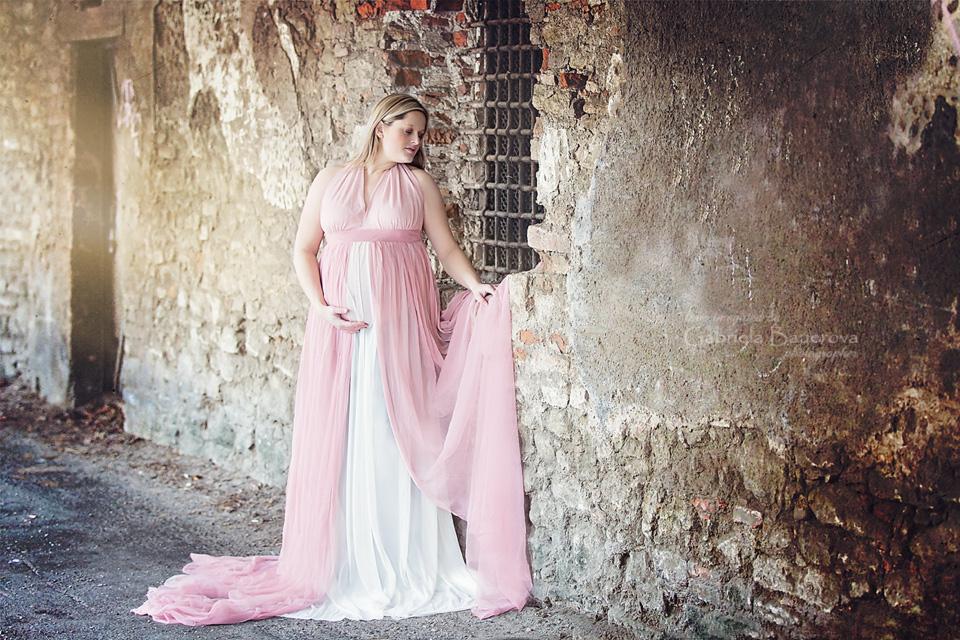 těhotenská fotografie Kutná Hora