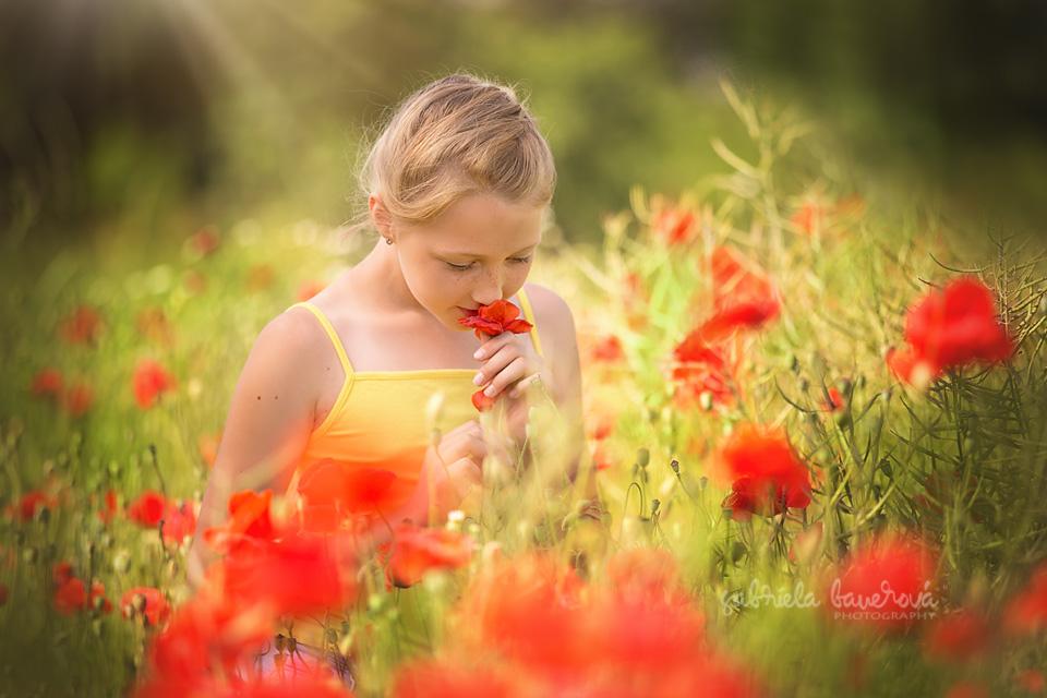 Letní dětské portréty