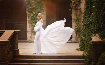 Šaty pro Vaše těhotenské focení