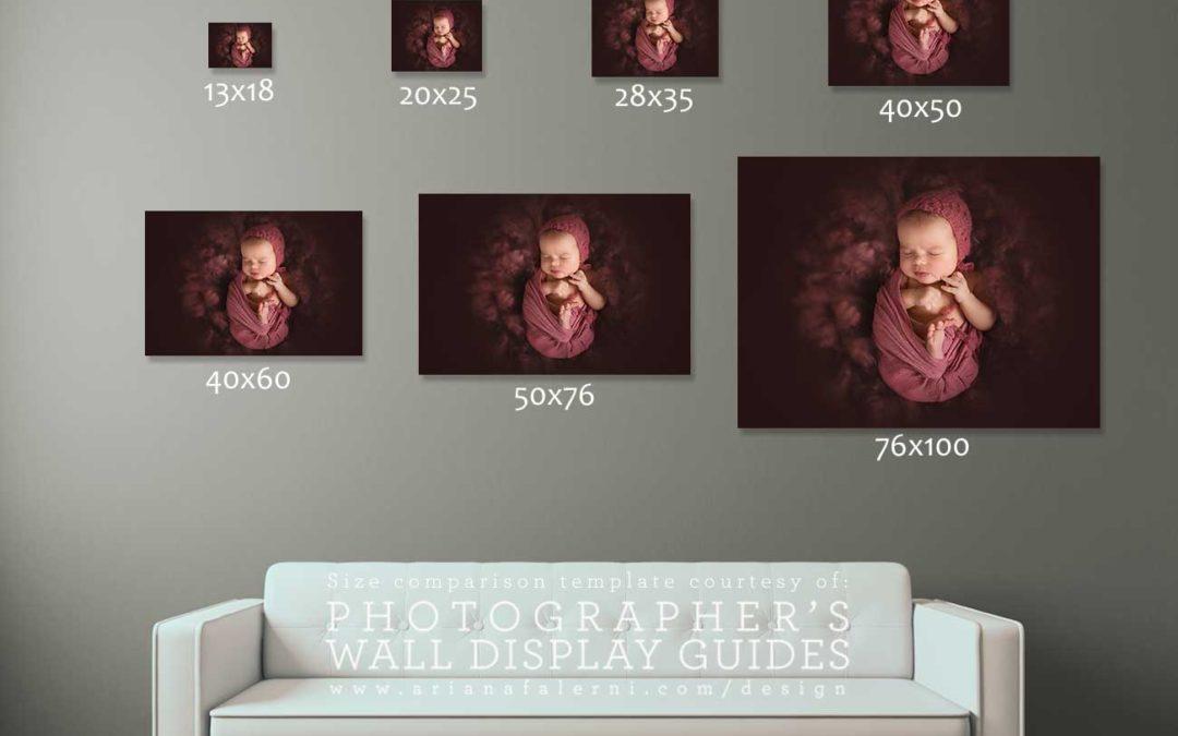Jak zvolit správnou velikost foto obrazu